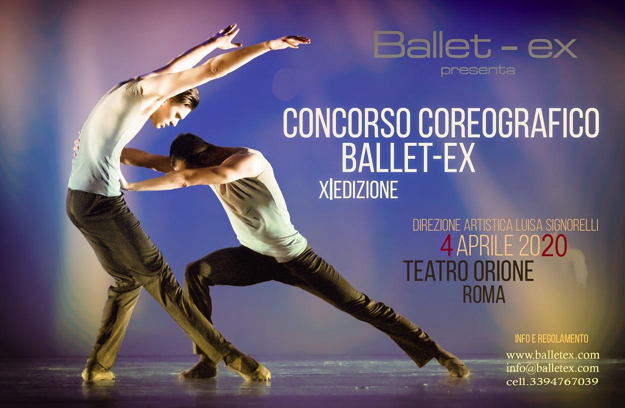 Concorso coreografico Ballet-ex 2020